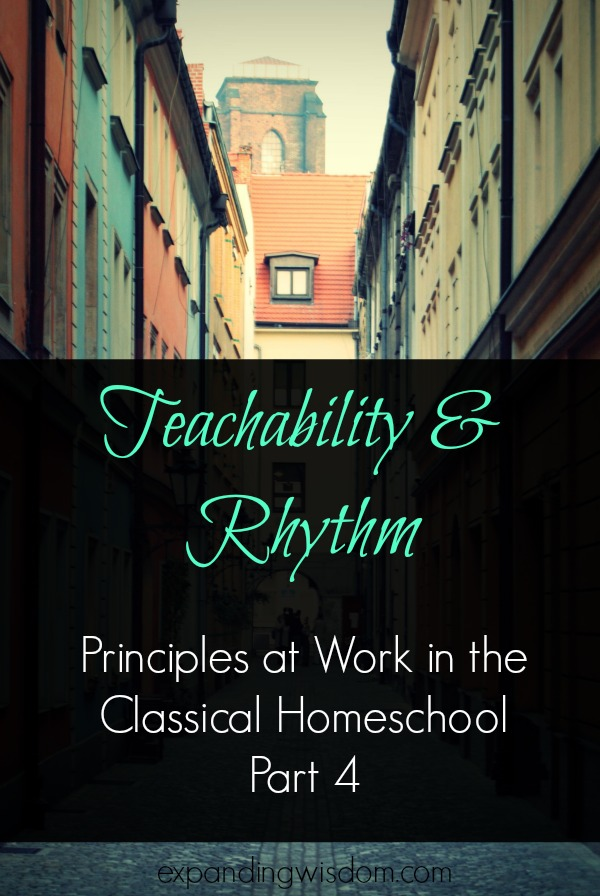 teachability and rhythm