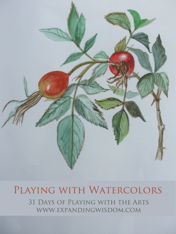 Playing with Watercolors by Lynn Seddon Title Image