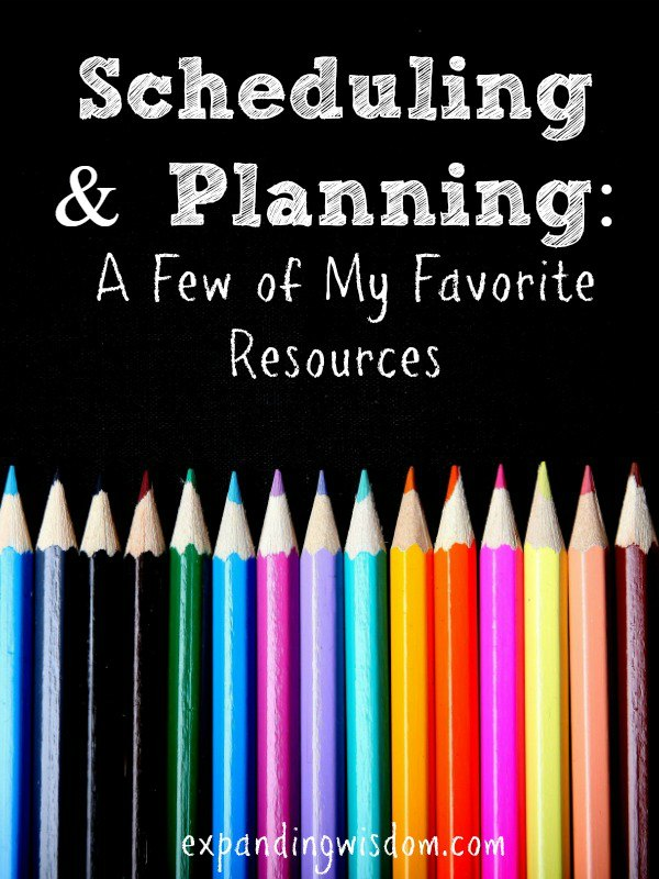 scheduling and planning resources body