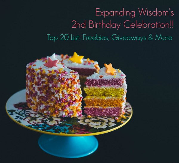 Happy 2nd Birthday Expanding Wisdom!