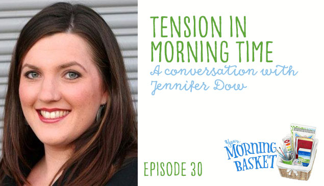Tension in Morning Time ~ Today on Your Morning Basket