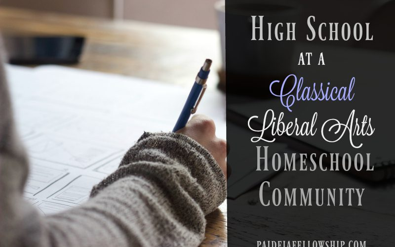 High School at Paideia Fellowship Homeschool Community