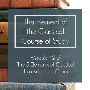 The classical course of study